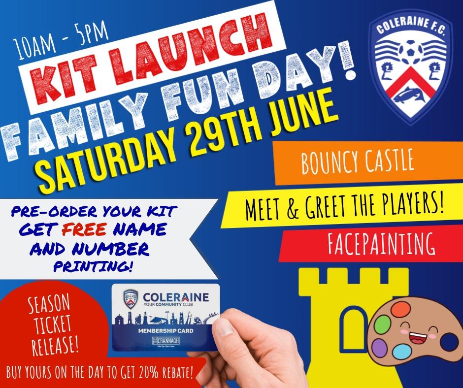 Latest News: Open Day   Coleraine FC